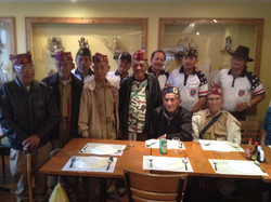 WW2 Heroes supported by VFW Post members