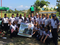 VFW Post 124 Members on Funeral for Comrade Boy Sioco