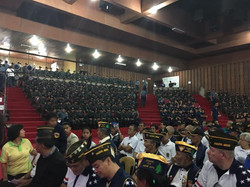 Members of VFW Post 124 on Baguio Day