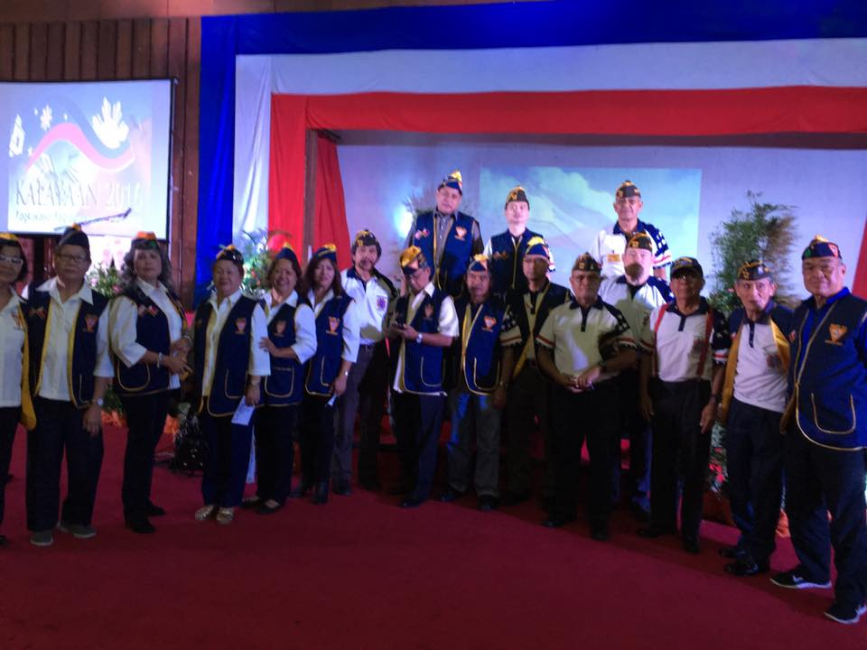 Members of LAFRA and Members of VFW Post 124 Baguio Conv Center