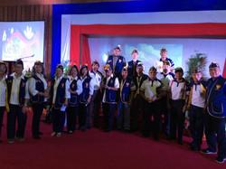 Members of LAFRA and Members of VFW Post 124 Baguio Conv Center