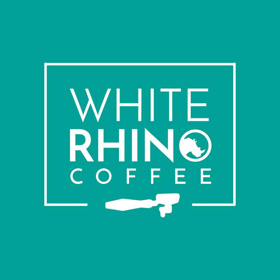 white rhino coffee logo