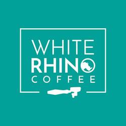 white rhino coffee logo