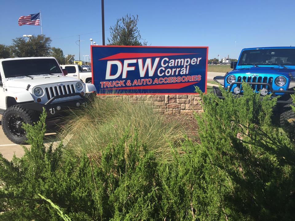 DFW Truck Accessories signage