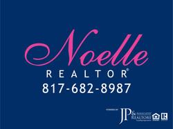 Noelle Realtor Logo with JPAR - Blue wit