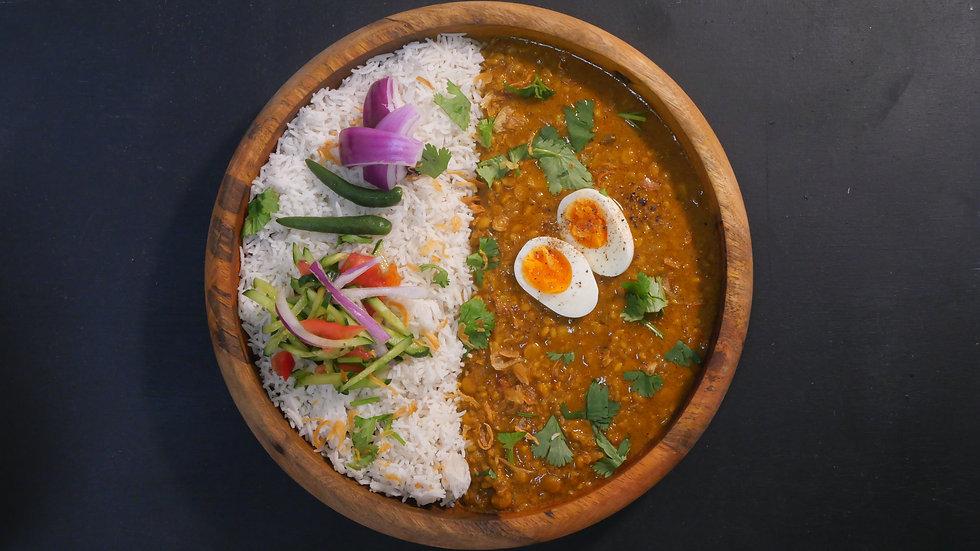 【大盛・ダール(豆)カレーセット🍛】【現地の味 🇧🇩】Daal Curry