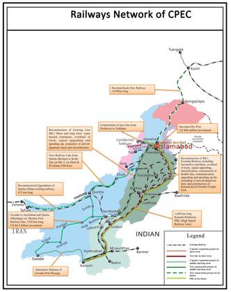 CPEC Railways Network