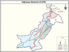 CPEC Highways Network