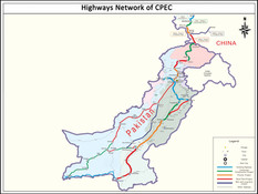 CPEC Highways Network