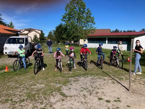 """O inicio do """"Ciclismo Vai À Escola"""""""