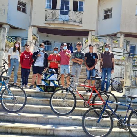 Re-Ciclar Emoções - ACBA faz a 2ª entrega de material de ciclismo.