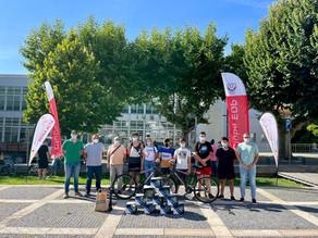Re-Clicar Emoções - ACBA faz a 1ª entrega de material de ciclismo a uma das instituições visadas.