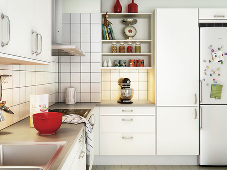 Where to put the fridge in the kitchen?