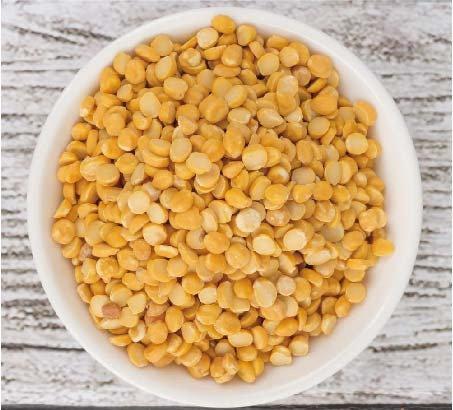 Chana Dhal Yellow gram lentils (चना दाल) 鷹嘴豆(剖半)  500 gm.