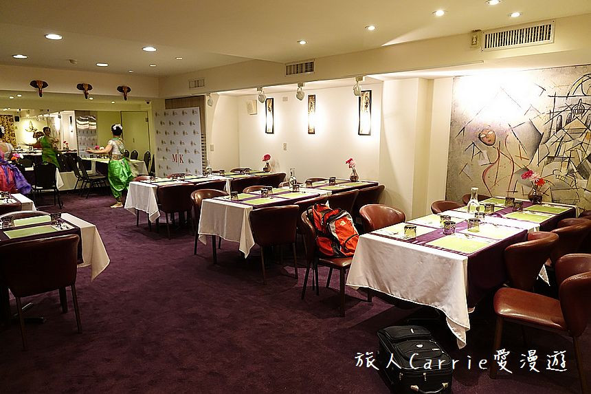 b1 dining hall for extra spacious dining only at Mayur Indian Kitchen Taipei, Taiwan