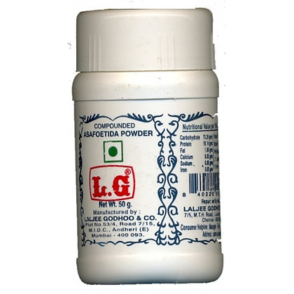 LG Asafoetida heeng (हींग) 阿魏膠粉 100 gm.