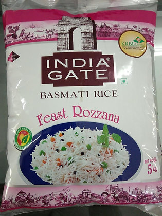 India Gate Basmati Rice (Feast Rozzana)5 kg