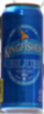 Indian number 1 premium beer Kingfisher at Mayur Indian Kitchen in Taipei 印度的最好啤酒馬友友印度廚房台北