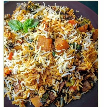 海德拉巴蔬菜香料炒飯 Vegetable Biryani