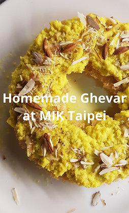 Rajasthani Ghevar Indian sweet  200gm.