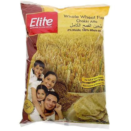 Whole wheat flour Atta  (गेहूं का आटा) 全麥麵粉 5 kg.