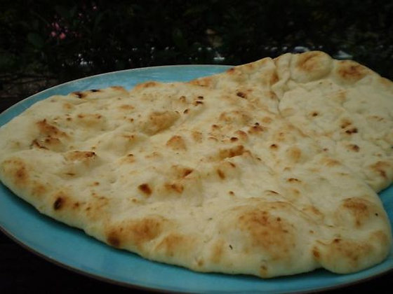 原味烤餅(全素) Plain Naan