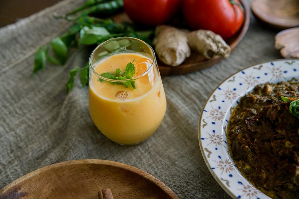 Mayur Indian Kitchen,Mango Lassi,