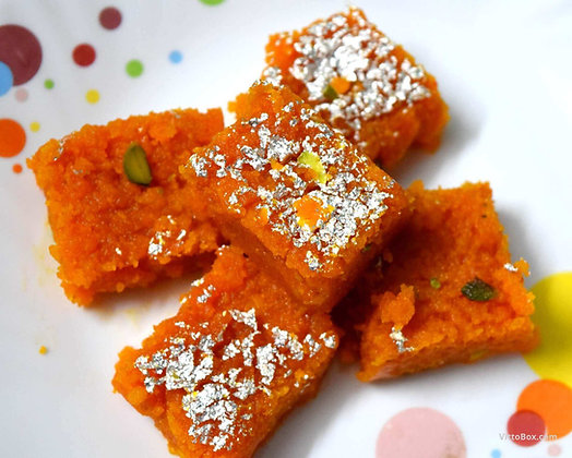 Moong dal barfi 250 gm 5 pc approx