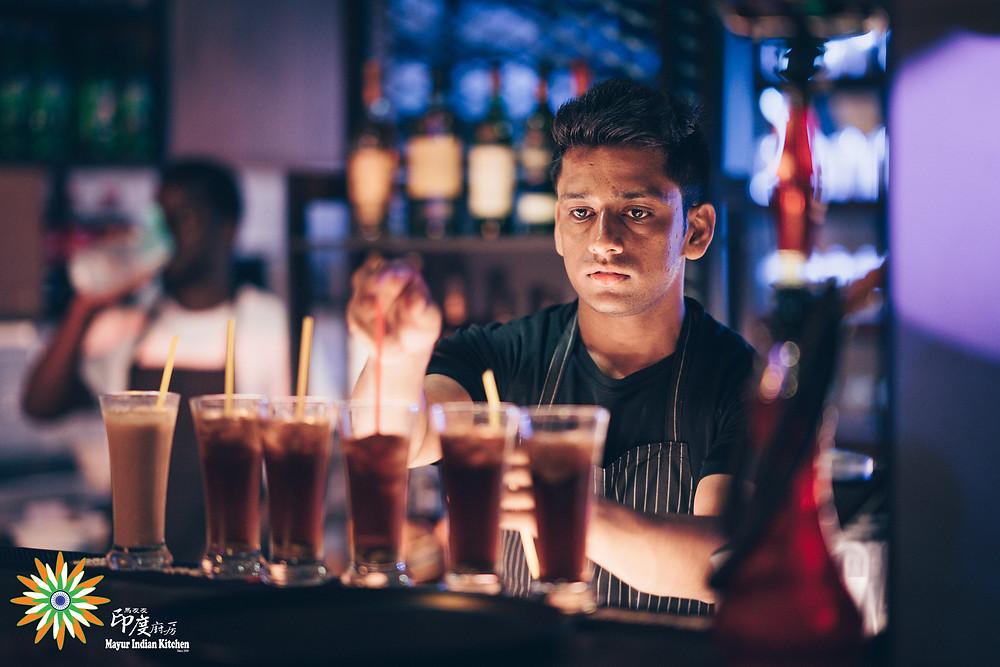 Bar at Mayur Indian Kitchen, MIK-6