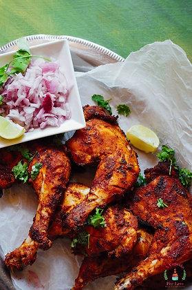坦都香料碳烤雞腿套餐 Tandoori Chicken set
