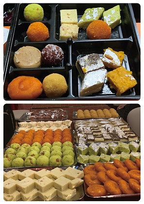 Mix Indian desserts 500 gm.