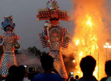 Dusshehra 十勝節 | The victory of 'Good over Bad'