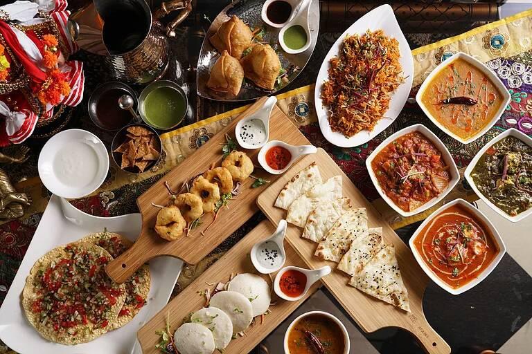 The vegetarian Indian cuisine Taipei