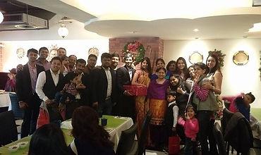 Indian dinner at MIK Taipei