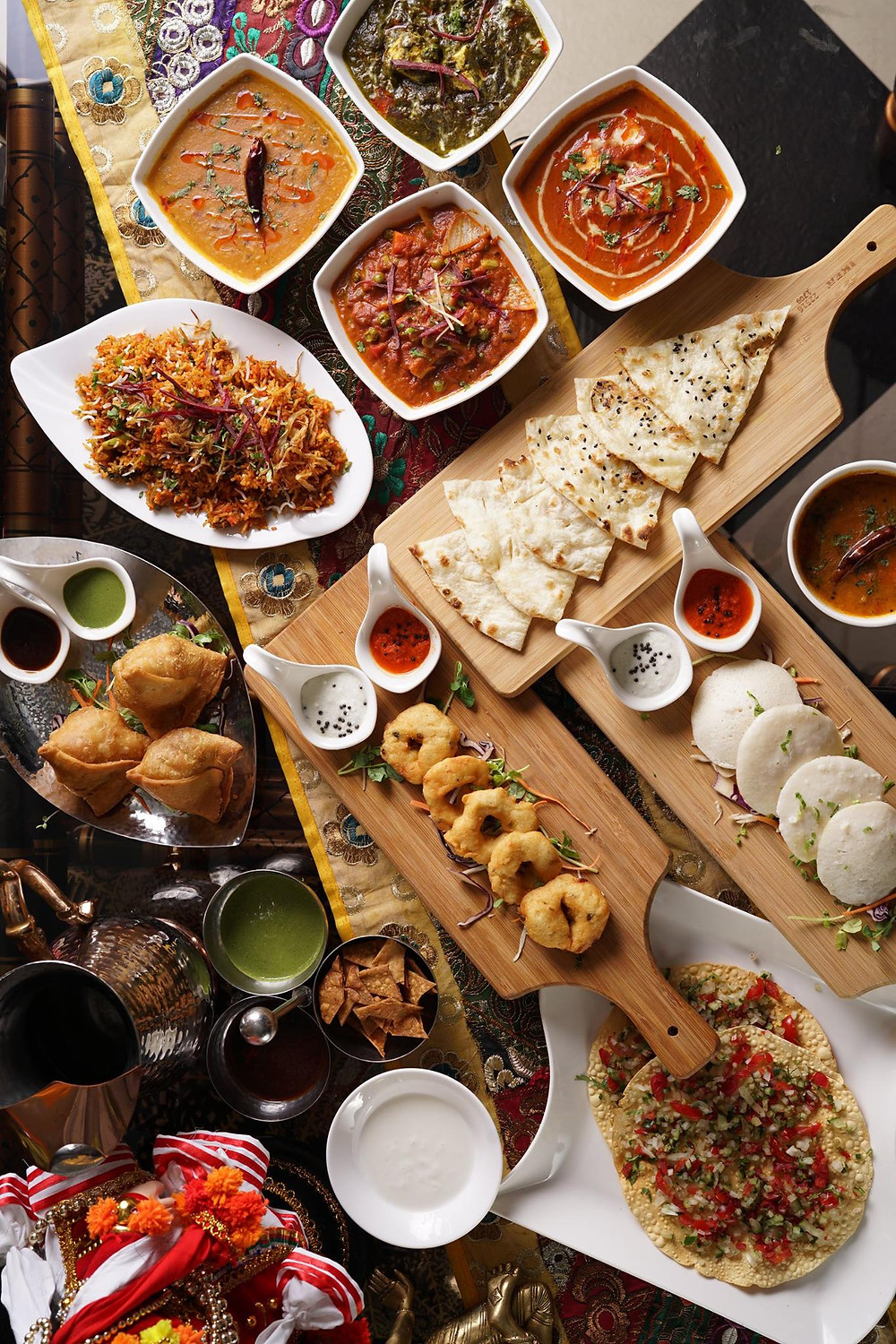 The Variety of Indian cuisine at Mayur Indian Kitchen makes us unique