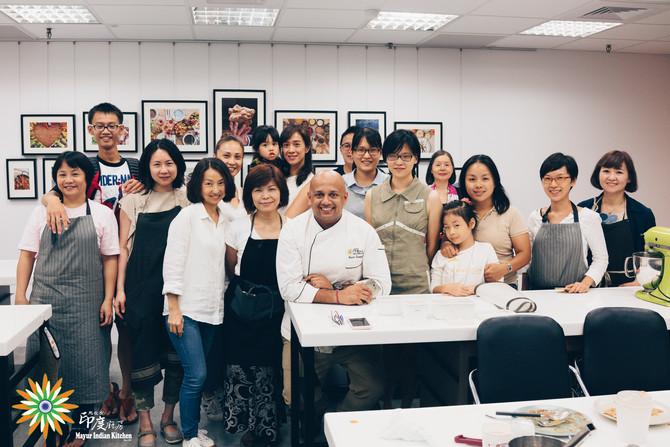 Mayur Indian cooking class in Taipei