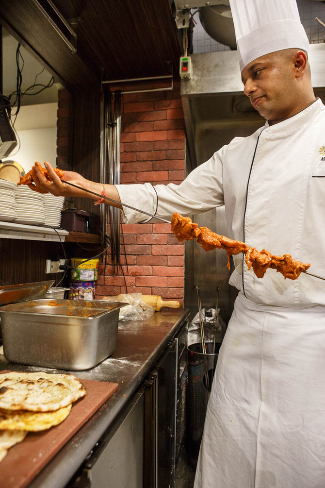 The Indian Kitchen Team of Mayur's restaurants