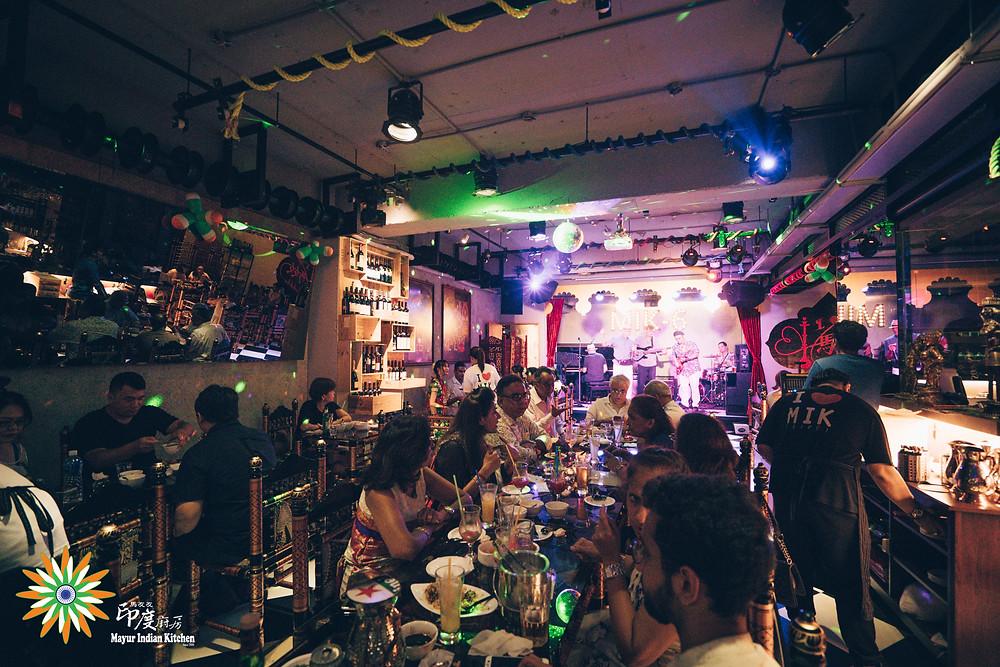 Live band at Mayur Indian Kitchen, MIK-6