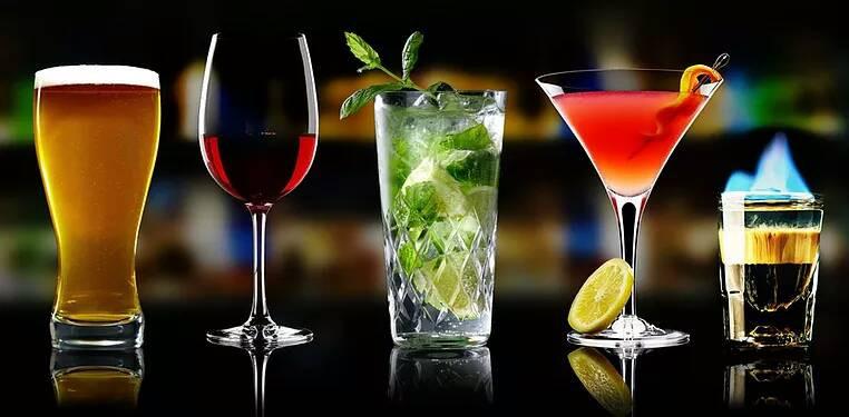 Alcoholic & non alcoholic drinks at Mayur Indian Kitchen restaurant, MIK-6 live shisha bar