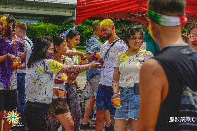 台灣舉辦世界上唯一的好麗節 Taiwan holds only Holi festival in world