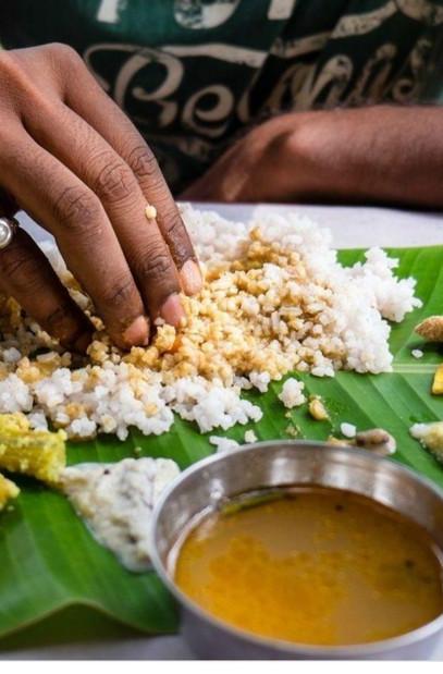 Indian curry & rice at Mayur Indian kitchen Taiwan