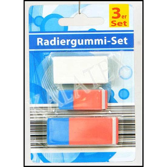 6x3 Radiergummis