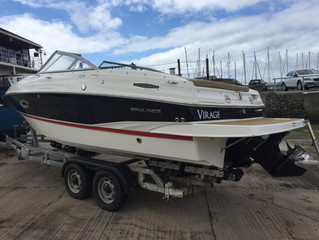 Marking our 75th used boat sale since we started in late 2015, this Bayliner sold this afternoon.