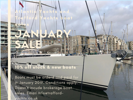 Don't Buy a Sofa in the Jan Sales... 10% off New and Stock boats purchased in Jan 2019 (Ts &Cs)