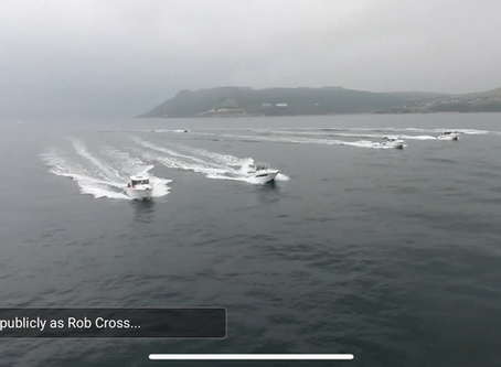 River Yealm Atlantic Boat  Club trip