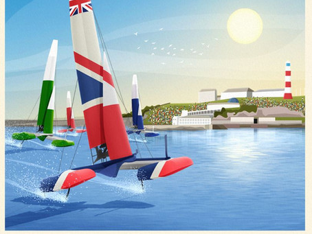 Come and Join us for the Sail GP in Plymouth on July the 18th