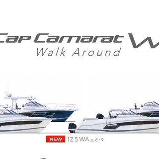 Cap Camarat 12.5 WA atlantic yachts line