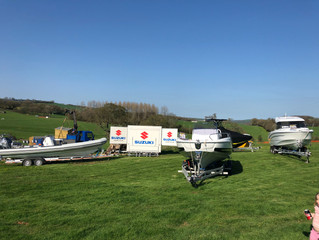 Boat Exchange road show now at the Flete Estate.