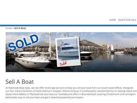 New Partners - Waterside Boat Sales