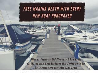 Free Marina Berth